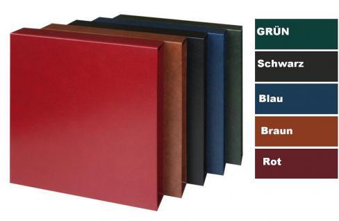 KOBRA G22K Hellbraun - Braun Schutzkassette - Kassette Für das Album Ringbinder G22 & G28