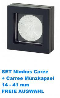 LINDNER 4834 NIMBUS 50 Objektrahmen Schweberahmen 50x50 mm (leer) Für Octo & Carree & Quadrum Münzkapseln