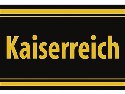 """1 x SAFE 1130 SIGNETTE Aufkleber selbstklebend """" Kaiserreich """""""