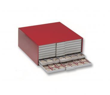 SAFE 6200 BEBA Münzkasten MINI Gehäuse Rot leer - Vorschau 1