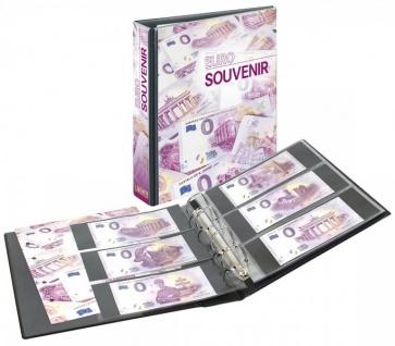 LINDNER 3538 Euro Souvenir Banknotenalbum Sammelalbum PUBLICA M + 10 Blätter MU3103 für 60 Scheine