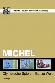 Michel Motive Briefmarken Katalog Olympische Spiele seit 1896 - 2016 + ETB Bonus GRATIS