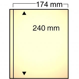 10 SAFE 7871 Compact Ergänzungsblätter Hüllen sandfarbend 1 Taschen 174 x 240 mm Briefe A5