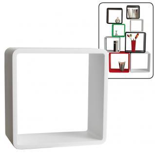 """SAFE 5316 Deko Präsentationsrahmen Würfel Cube """" Quadro Weiss """" L - Large L 36 x H 36 x T 19, 5 cm Für alle Schätze von A - Z"""