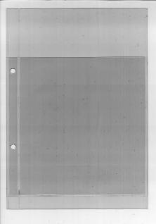10 x KOBRA A2 Einsteckblätter Ergänzungsblätter glasklar transparent 2 Taschen 125 x 90 mm - Vorschau 2