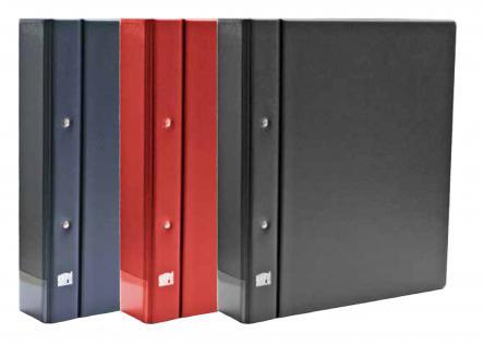 SAFE 480-5 Compact A4 Classic Schwarz Münzalbum Album Ringbinder Für Münzen & Octo & Carree & Quadrum Münzkapseln & Münzrähmchen