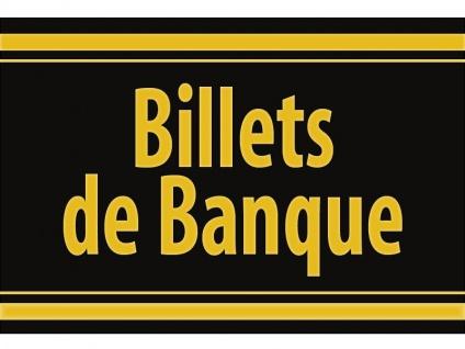 """1 x SAFE 1130 SIGNETTE Aufkleber selbstklebend """" Bilets de Banque """""""