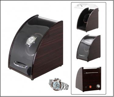 SAFE 0018 Elektrischer Palisander - Design Uhrenbeweger Luxus für 1 Automatik & Damen - Herren Armbanduhr Uhr