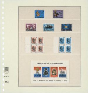 1 x LINDNER 802414 T-Blanko-Blätter Blankoblatt 18-Ring Lochung 4 Taschen 35 / 34 / 62 / 90 x 189 mm - Vorschau 2