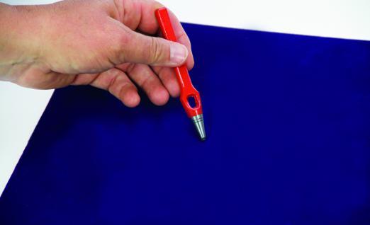 SAFE 5776 Befestigungsset zum Fixieren von Sammel-Gegenständen Locheisen
