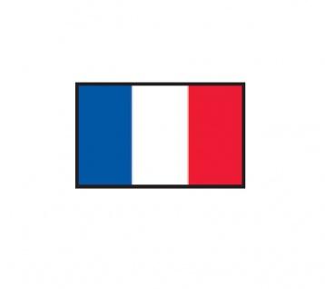 1 x SAFE 1175 SIGNETTE Flagge Frankreich - France Aufkleber Kennzeichnungshilfe - selbstklebend - Vorschau 1