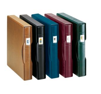 LINDNER 814-B Kassette Schutzkassette Blau für Ringbinder 1104 - 2810 - 2815 - Vorschau 2