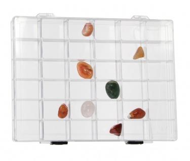 SAFE 5260 Transparente Kleinboxen Setzkasten Kunststoff Universal mit 36 Fächer 33 x 33 x 32 mm - Vorschau 2