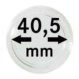 10 LINDNER Münzkapseln / Münzenkapseln Capsules Caps 40, 5 mm 1 Unze Libertad 1 Unze Britannia Silber 2250405