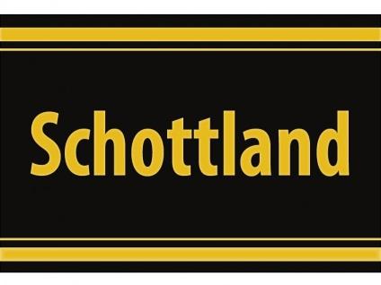 """1 x SAFE 1130 SIGNETTE Aufkleber selbstklebend """" Schottland """" - Vorschau 1"""