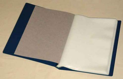 KOBRA B4K Blau Schutzkassette - Kassette Für das Bogenalbum B4 - Vorschau 2