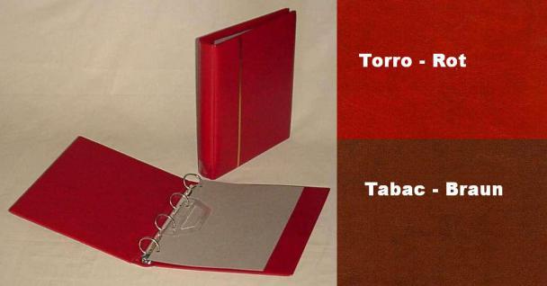 1 x KOBRA E27 Combi Einsteckblätter beidseitig schwarz 7 Streifen 33 x 200 mm Ideal für Briefmarken - Vorschau 4