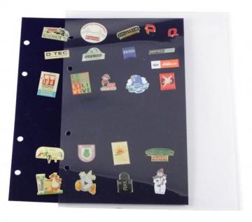 2 x SAFE 7862 Schutzhüllen für SAFE 7861 Samttafeln Ergänzungsblätter Pin's