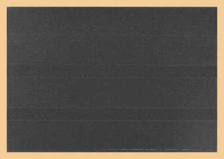 50 x A5 KOBRA K13 Kunststoff Einsteckkarten Steckkarten Schwarz 210 x 147 mm 3 Streifen 202 x 29 mm - Vorschau 2