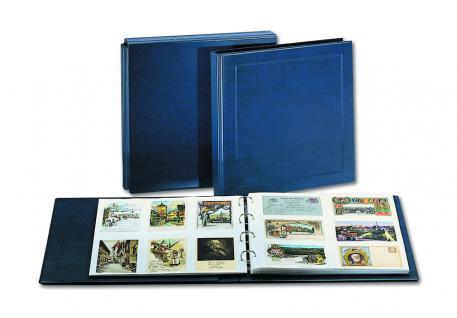 5 x SAFE 1015 Ergänzungsblätter Postkarten Ansichtskarten 6 Taschen 110 x 160 mm für 12 Karten glasklar - Vorschau 3