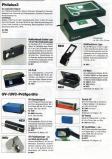 SAFE 4665 Randlose Leuchtlupe Klemmlupe Lupe + LED 2x & 4x fache Vergrößerung Linse 90 mm + Batterien - Vorschau 3