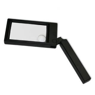SAFE 9804 Schwenkarm Leuchtlupe Lupe Linse 85 x 50 mm 2x & 6x fache Vergrößerung
