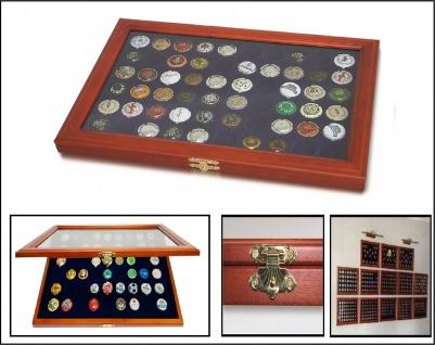 SAFE 5865 Holz Sammelvitrinen Vitrinen für 60 Kronkorken Champagnerdeckel Champagerkapseln & Kronkorken - Vorschau 1