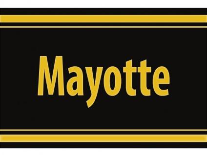 """1 x SAFE 1130 SIGNETTE Aufkleber selbstklebend """" Mayotte """""""