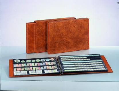 5 x SAFE 1028 Ergänzungsblätter mit 8 Taschen 423x34 mm + schwarze ZWL Für Rollenmarken Rollenenden - Vorschau 3