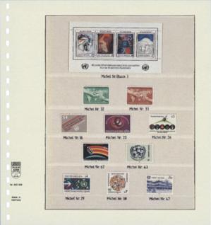 1 x LINDNER 802506 T-Blanko-Blätter Blankoblatt 18-Ring Lochung 5 Taschen 69 / 36 / 31 / 31 / 35 x 189 mm - Vorschau 2