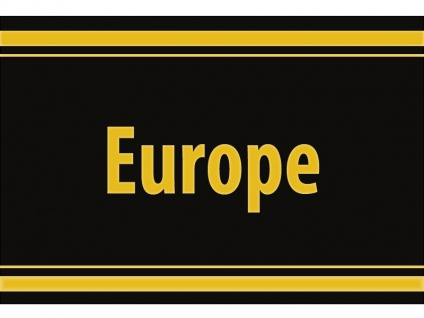"1 x SAFE 1130 SIGNETTE Aufkleber selbstklebend "" Europe """