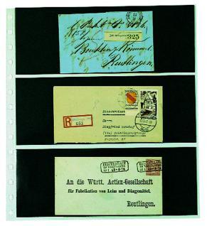 10 x SAFE 754 Einsteckblätter Spezialblätter Favorit 3 Taschen 245 x 95 mm für 6 Briefe Ganzsachen Postkarten