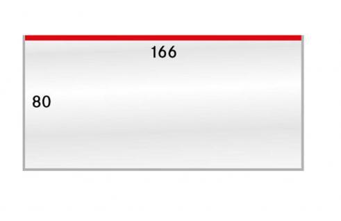 100 x LINDNER 895LP Schutzhüllen Hüllen Klarsichthüllen Banknotenhüllen 166 x 80 mm - Ideal für US Dollar Banknoten Papiergeld