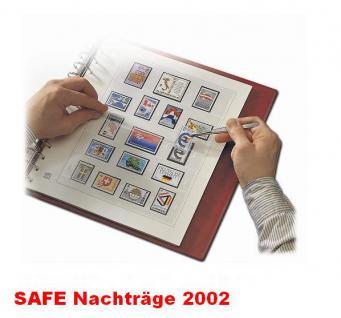 SAFE 1602 dual Nachträge - Nachtrag / Vordrucke Frankreich - France Jahresschmuckblätter - 2002