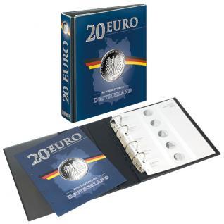 LINDNER 3636M Münzalbum PUBLICA M 20 Euro Gedenkmünzen Deutschland Vordruckalbum 2016 - 2020