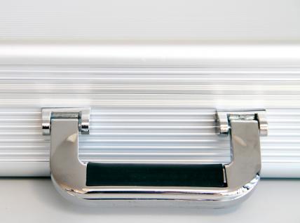 """SAFE 275 ALU Notebook - Netbook - Laptop Office Koffer """" Silver Star MAXI """" 18"""" - Vorschau 2"""