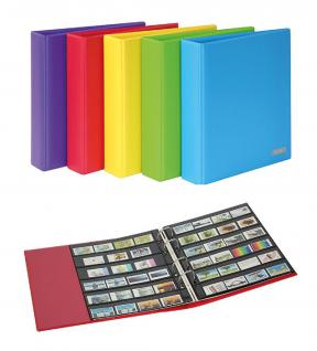 LINDNER S3540B-1 Berry MULTI COLLECT Ringbinder PUBLICA M COLOR + je 5 Blätter MU1315 & MU1316 Für Briefmarken