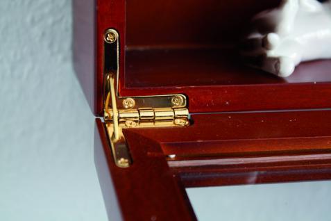 """2 x SAFE 5928 Echtglas Ergänzungs - Glas Fachböden 5 mm Stärke für die SAFE 5927 & 5924 Holzvitrine """" MAXI """" - Vorschau 2"""