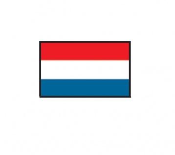 1 x SAFE 1175 SIGNETTE Flagge Niederlande - The Netherlands - Holland Aufkleber Kennzeichnungshilfe - selbstklebend