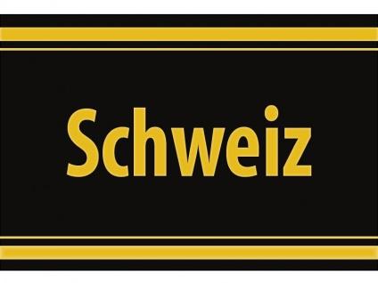 """1 x SAFE 1130 SIGNETTE Aufkleber selbstklebend """" Schweiz """""""