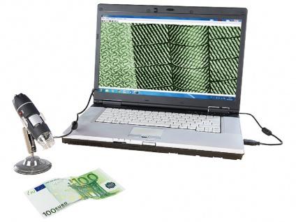 SAFE 9757 Digital Mikroskope Smart Lupe - USB 2.0 - 8 LED's - 0 - 500 fache Vergrößerung - Vorschau 2