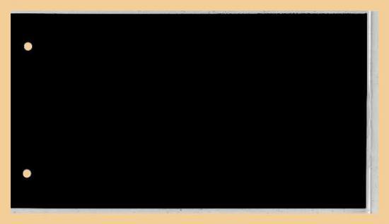 50 x KOBRA G4E Ersatztaschen Ergänzungsblätter glasklar Extra starke Folie + schwarzem Einsteckblatt 190x120 mm DIN C6 Für Briefe - FDC 'S Postkarten Ansichtskarten Banknoten Geldscheine - Vorschau 2