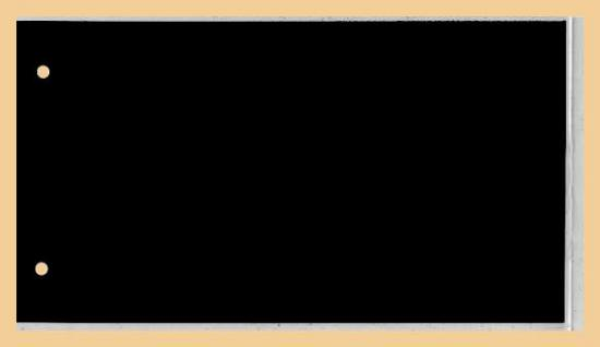 KOBRA G3 Braun Universal Briefealbum Sammelalbum Album 190 x 125 mm Für 100 Fotos Bilder Briefe FDC Ansichtskarten Postkarten Geldscheine Banknoten - Vorschau 4