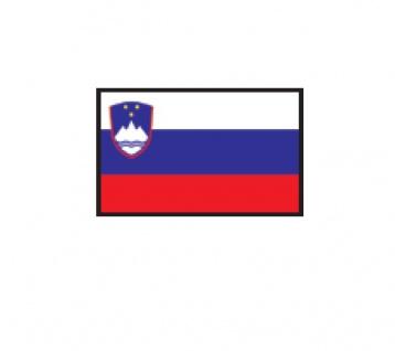 1 x SAFE 1175 SIGNETTE Flagge Slowenien - Slovenia Aufkleber Kennzeichnungshilfe - selbstklebend
