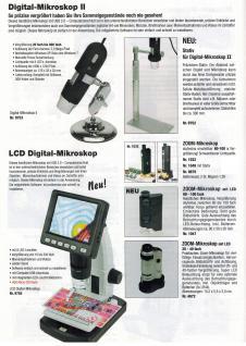SAFE 4635 Metall Präzisions Standlupe Fadenzähler Midi Lupe Linse 15mm - 10x fache Vergrößerung + Fokus einstellbar + LED Beleuchtung + Batterien - Vorschau 2
