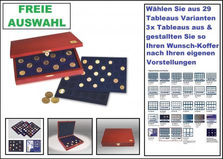 SAFE 5899 Elegance Holz Münzkassetten mit 3 Tableaus FREIE Auswahl aus 29 Modellen Ideal für Geocoins & TBs Travel Bugs & Geocaching