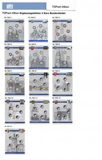 1 x SAFE 7822-22 TOPset Münzblätter Ergänzungsblätter Münzhüllen Münzblatt mit farbigem Vordruckblatt für 2 Euromünzen Gedenkmünzen - 2018 - Vorschau 4