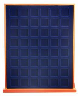 SAFE 6824 XXL Nova Exquisite Holz Münzboxen Schubladenelement 2 Tableaus 6324 und 96 Eckige Fächer 24, 5 mm Für 1 DM Euro 50 Cent - Vorschau 2