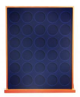 SAFE 6834 Nova Exquisite Holz Münzboxen Schubladenelement 30 Runde Fächer x 32 mm Ideal für 2 EURO Münzen in Münzkapseln 26 - Vorschau 2