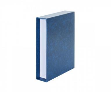 LINDNER 116K-B Schutzkassette Kassette Schuber Blau für Einsteckbuch Einsteckbücher 1162S 1169S